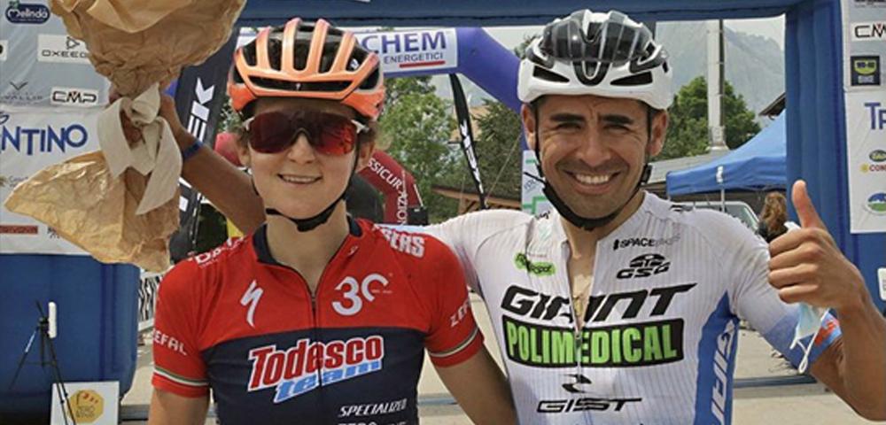 100km forti MTB Serena Calvetti Arias Cuervo Diego